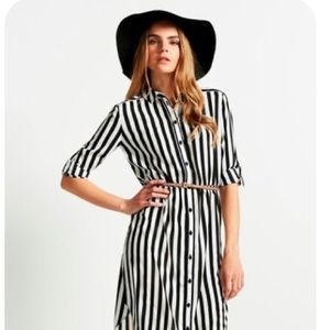 MSK Striped Dress